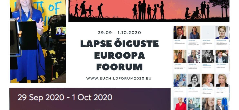 Lapse õiguste euroopa foorum (1)